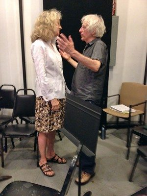 Blyth Danner and Austin Pendleton