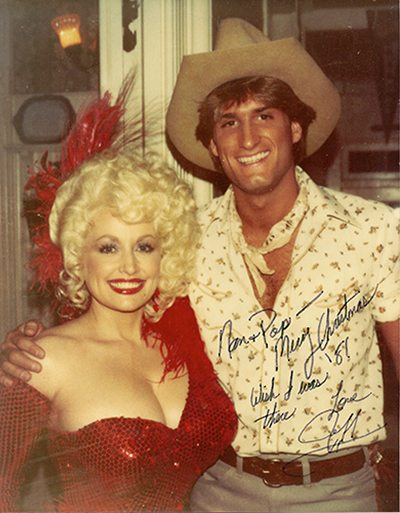 Dolly Parton and Jeff Calhoun