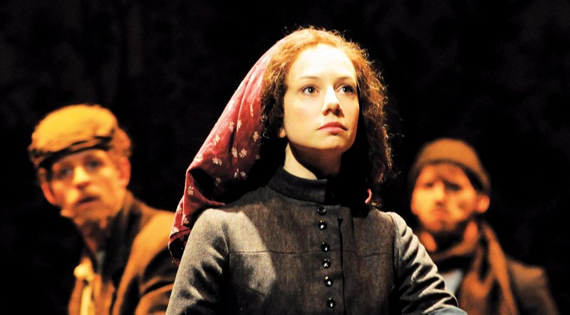 Hillary Clemens at the Asolo Repertory Theatre as Yentl