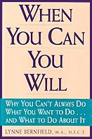 Book by Lynne Bernfield: When You Can You Will